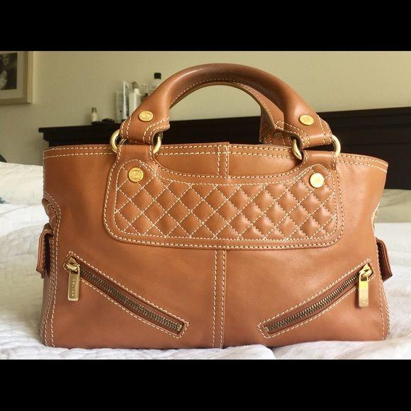 55d1fe554ca2 Celine Boogie satchel in light brown leather This authentic Celine light  brown leather Biker Boogie Bag was designed by Michael Kors for Celine.