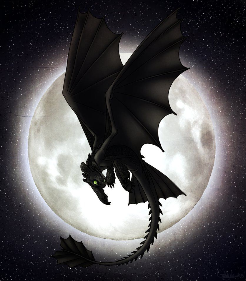 Full Moon by Goldylawk   Ohnezahn —— Drachen   Ohnezahn ...