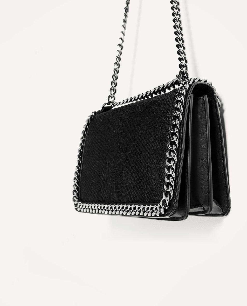 0567f4db1e CROSSBODY BAG WITH EMBOSSED CHAIN-View all-BAGS-WOMAN | ZARA United ...