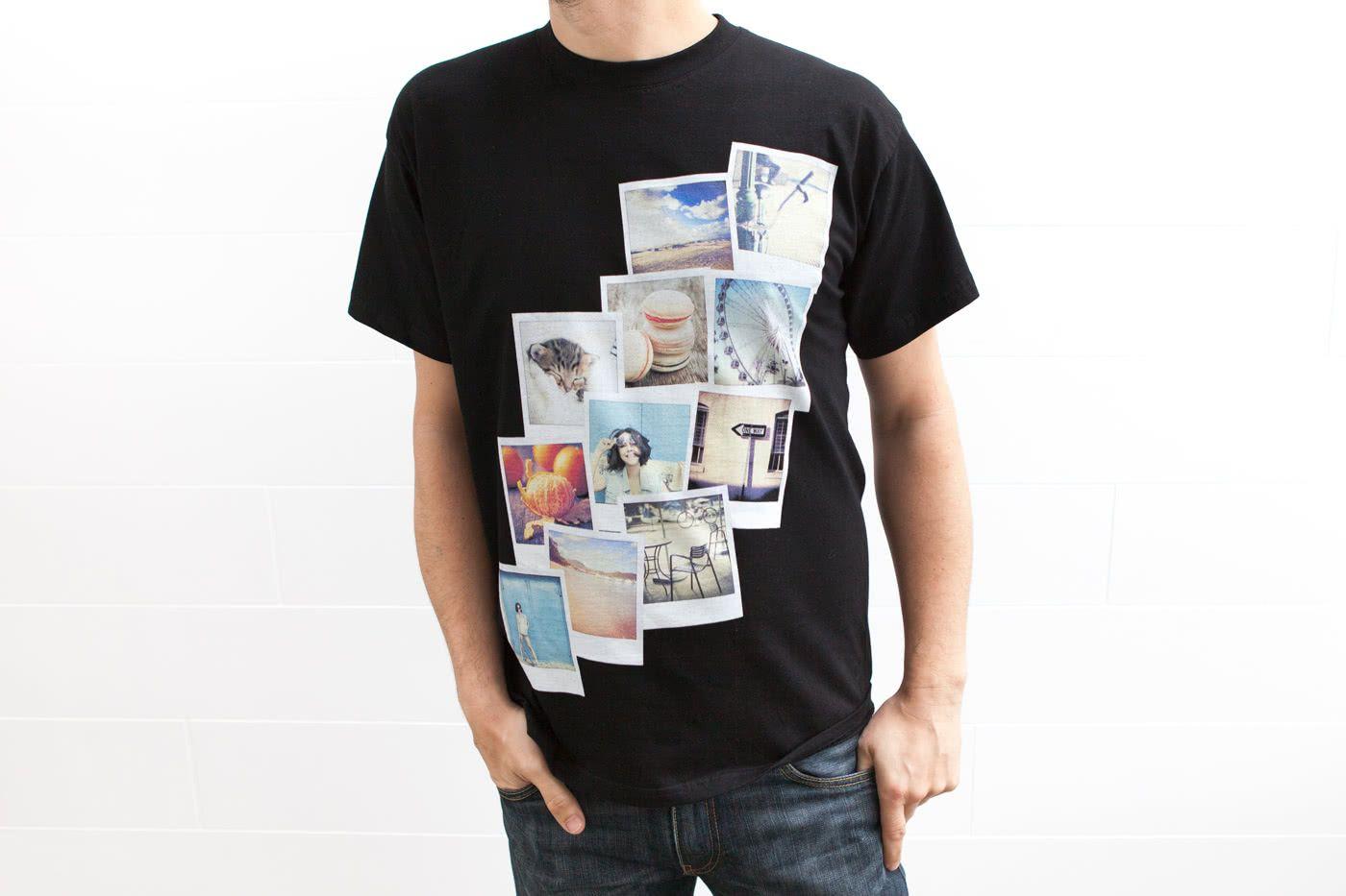 Créer un t-shirt personnalisé avec photo,