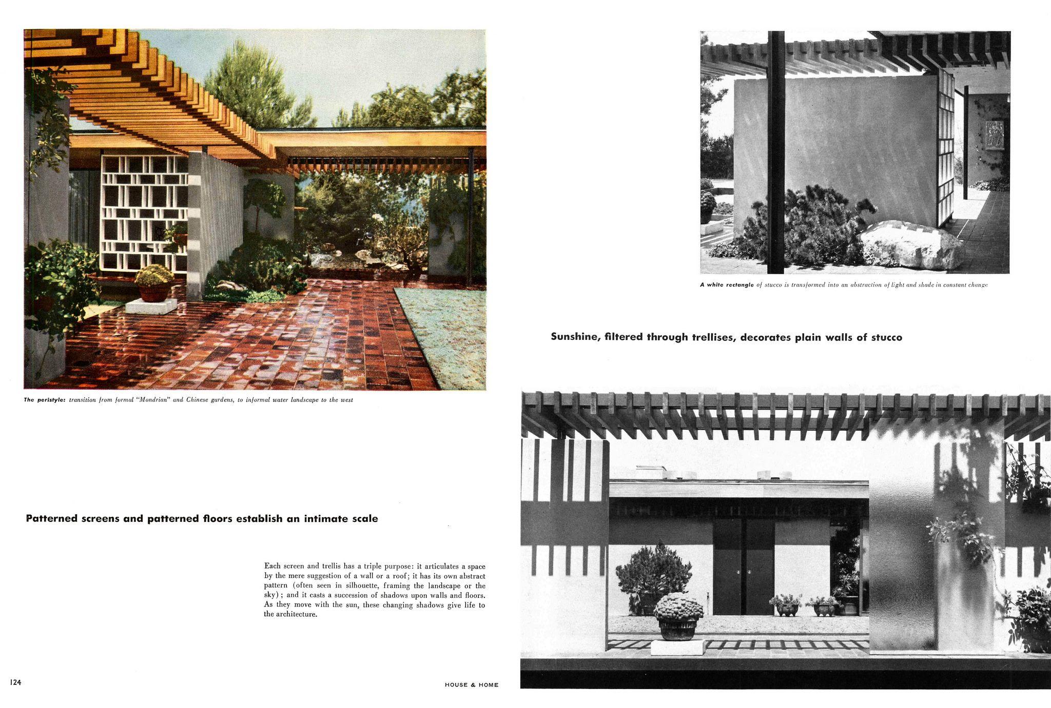 Thornton Ladd Lillian B Ladd Residence Hilltop House 1085 Glen Oaks Blvd Pasadena Ca 1951 Page 4 Of 6 Arch House House Residences