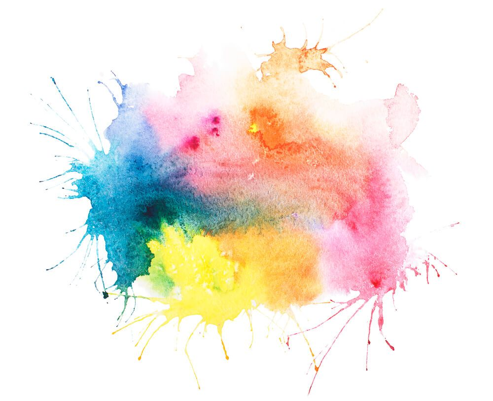 5 Color Tips Within Graphic Design Abstract Watercolor Abstract