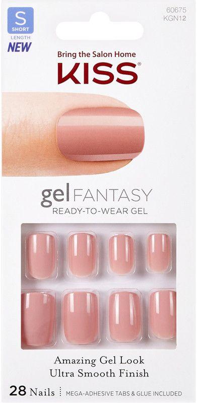 Kiss Ribbons Gel Fantasy Nails Ulta Beauty In 2020 Kiss Glue On Nails Fantasy Nails Glue On Nails