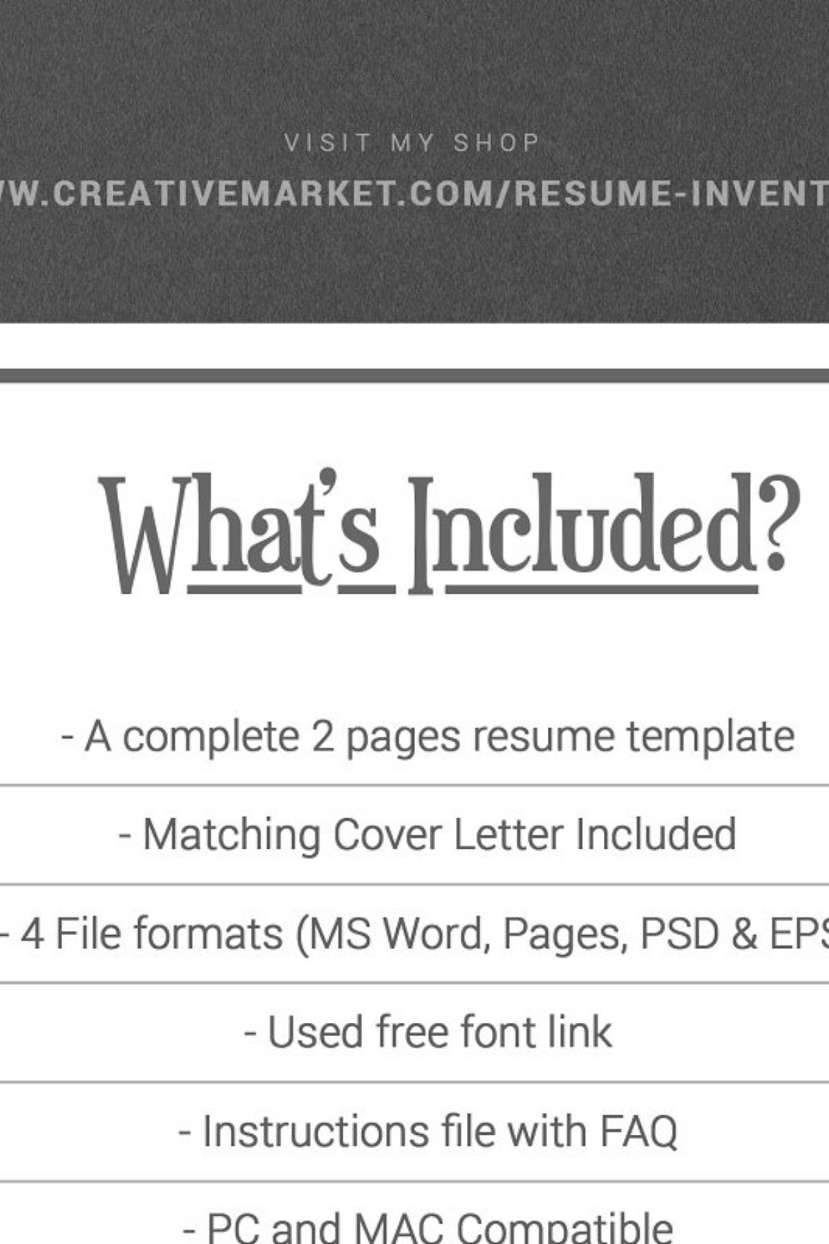 We make every piece of our resume design, such … Resume