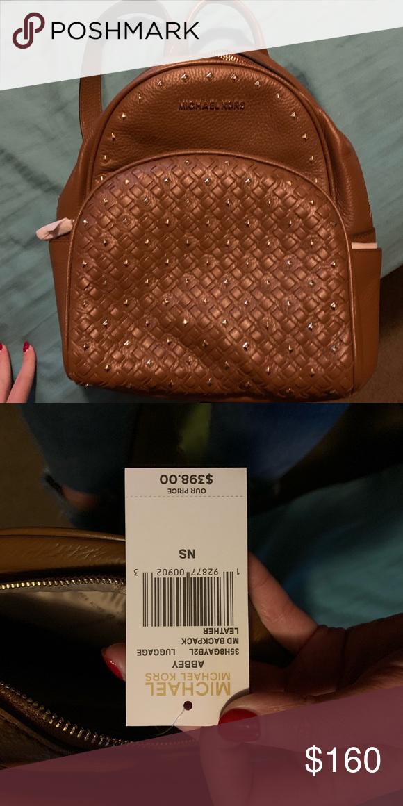 b621fa4eb5c0 Micheal Kors mini bookbag Brand new with tags. Abbey MK mini bookbag Michael  Kors Bags Backpacks