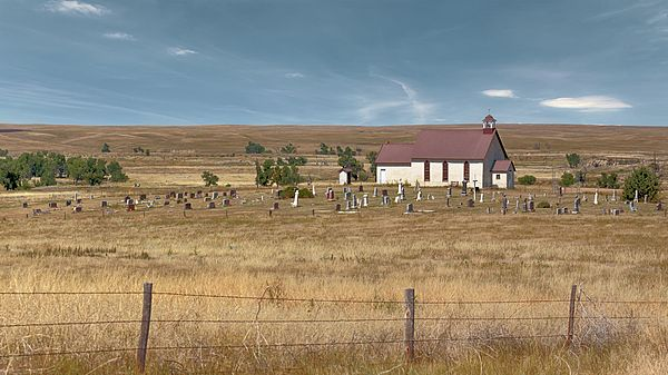 Montrose In Oglala National Grasslands Northwestern Nebraska