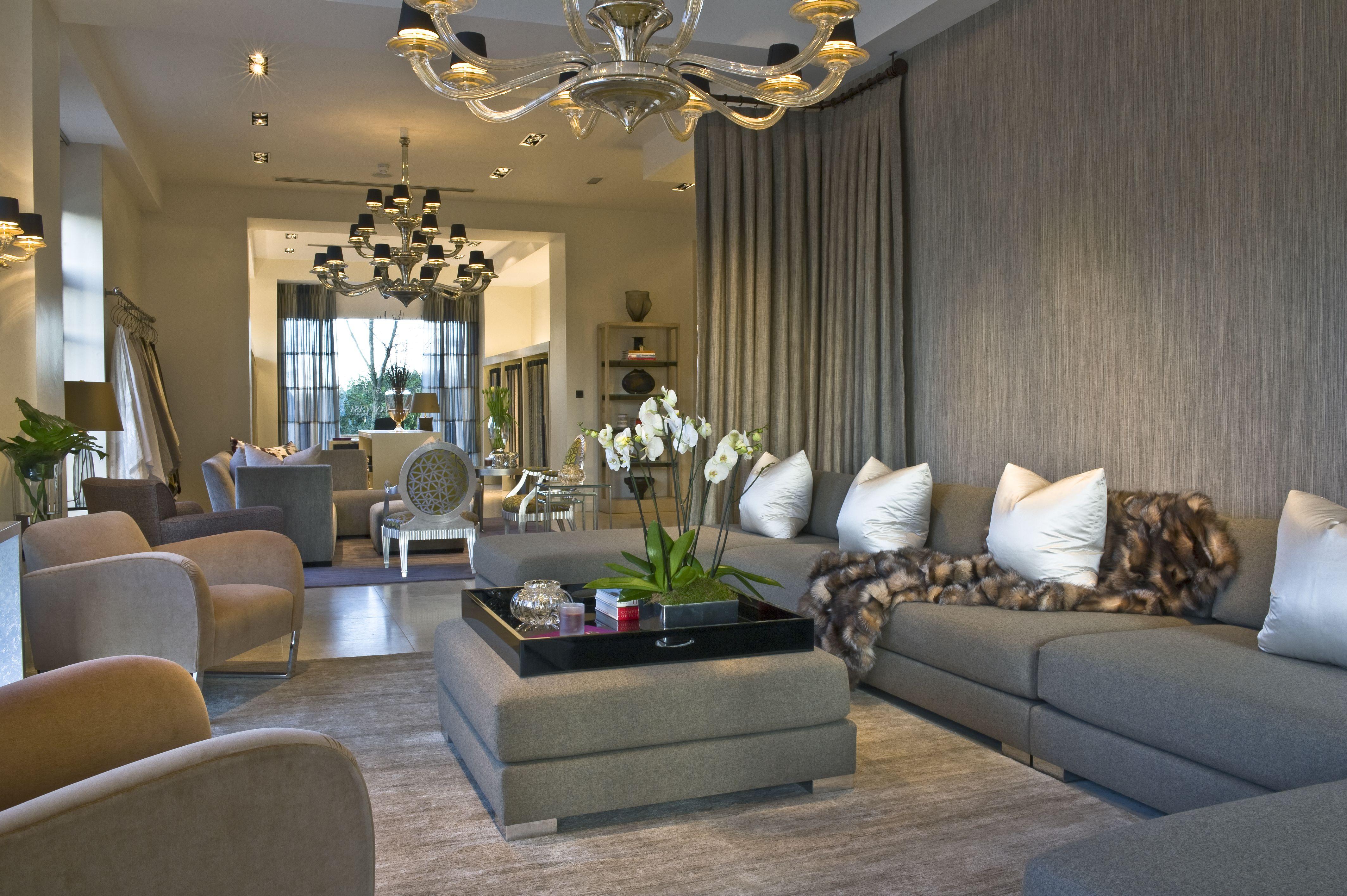 Donghia Mobili ~ Luxury furniture retail store interior design donghia showroom in