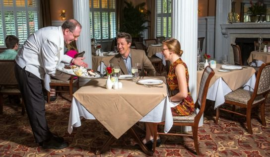 OpenTable Best Ambiance Awards to the Jekyll Island Club Hotel's Grand Dining Room and Courtyard ...
