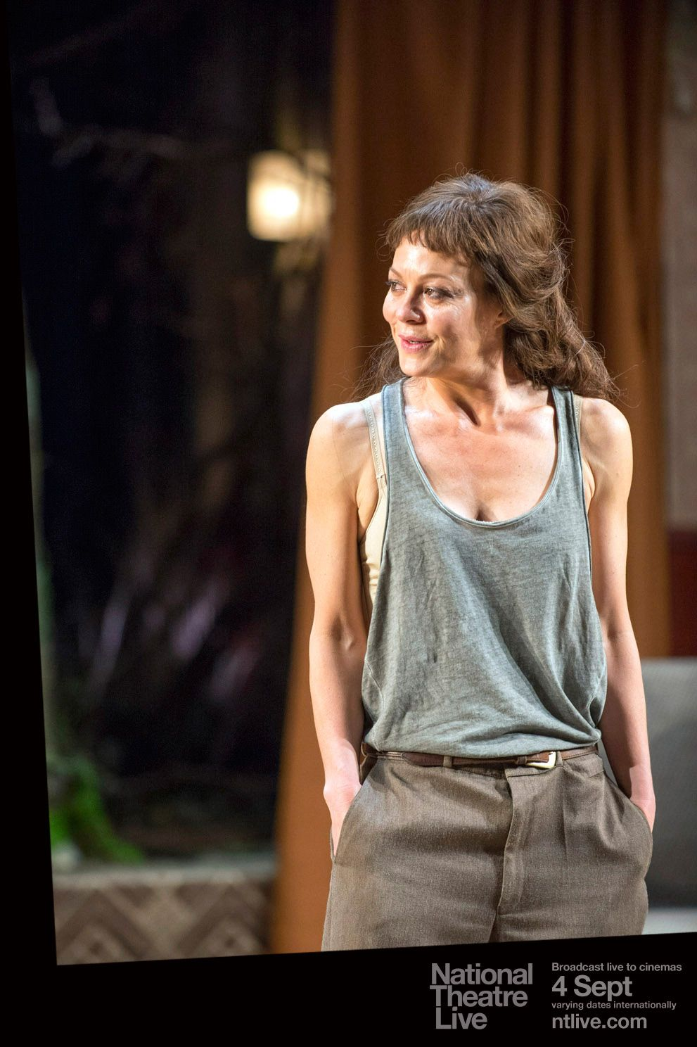 Helen Mccrory Leaving medea | national theatre live | directed by: carrie