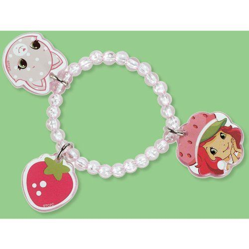 strawberry shortcake party supplies charm bracelets 4ct by