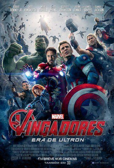 Primeiro Poster Oficial Dos Vingadores Peliculas Marvel Avengers Ultron