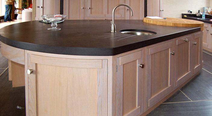 Granit Schiefer schiefer arbeitsplatten haben eine elegante oberfläche die sich gut