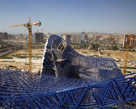 Construction of the Heydar Aliyev Center - Zaha Hadid Architects