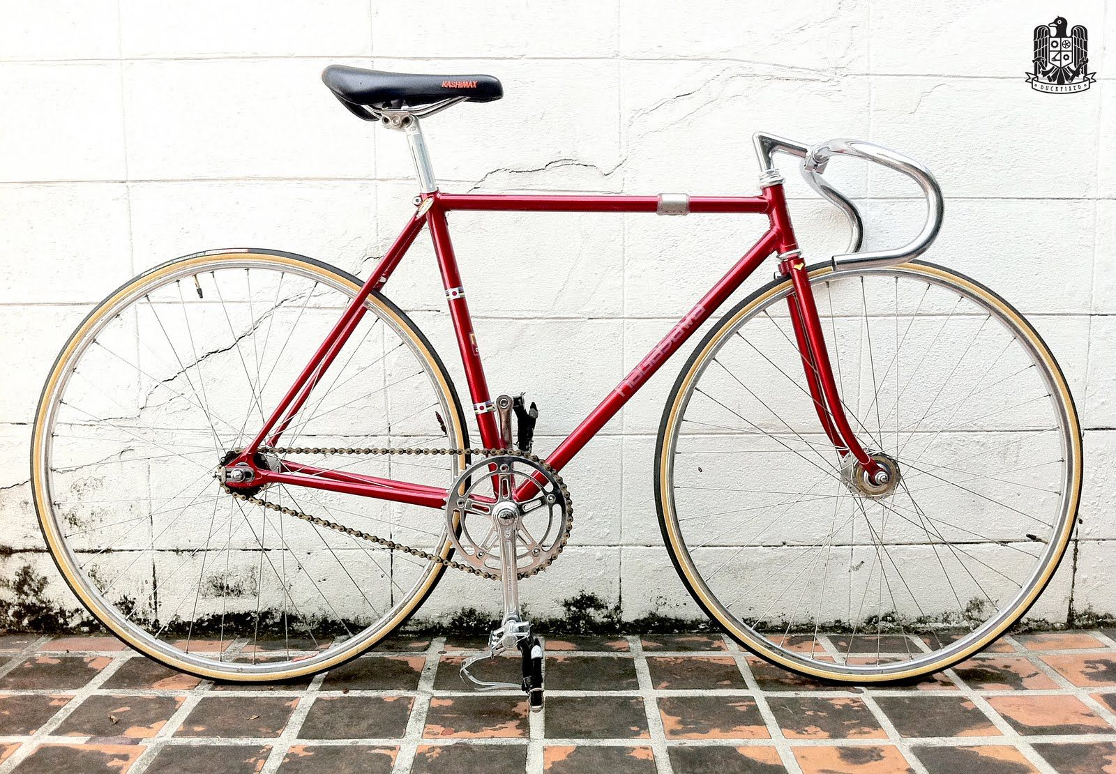 Nagasawa Nakano Red NJS Keirin | bikes | Pinterest | Bicycling and ...