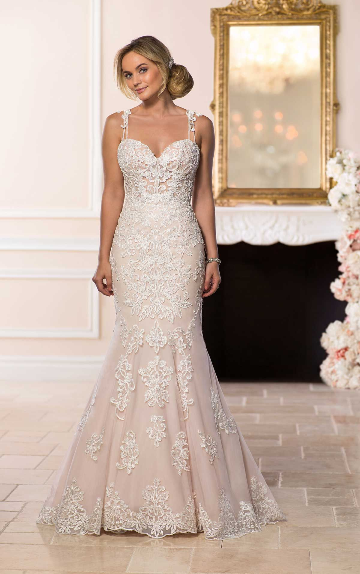 Bohoinspired lace mixes with romantic floral details to create a