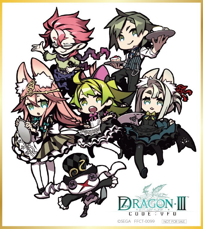 7thd dramacd on twitter character design 7th dragon character