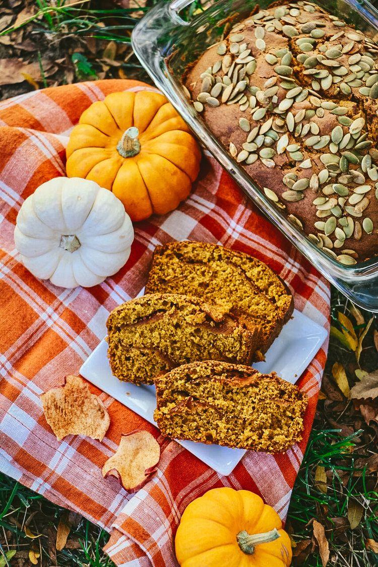 Harvest Bread: Pumpkin, Apple, and Cinnamon — Sisters ...
