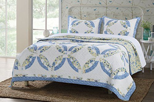Greenland Home 3 Piece Forever Quilt Set King ** Check out the image by visiting the link.