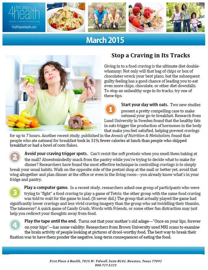 first place health diet first place diet plan