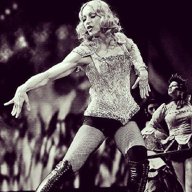 mmrobertomm: @madonna #Madonna #StrikeaPose #VOGUE