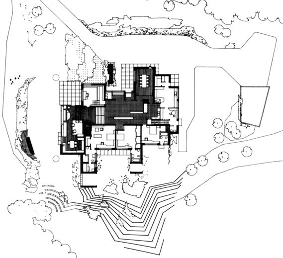 Aalto-Maison_Carre-Bazoches | Plan | Pinterest | Architectes ...