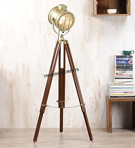 Handmade Set Of Two Movie Spotlight Floor Lamp Sealight