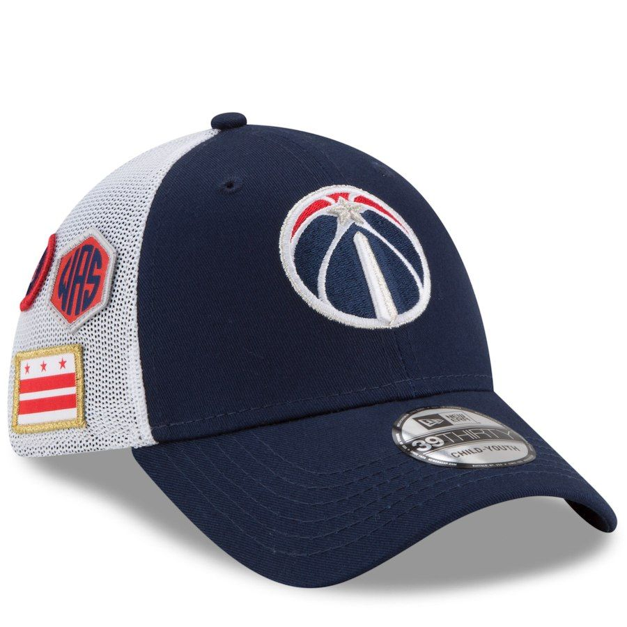 1ff8161ef40734 ... spain youth washington wizards new era navy 2018 draft 39thirty flex hat  your price 27.99 262ed