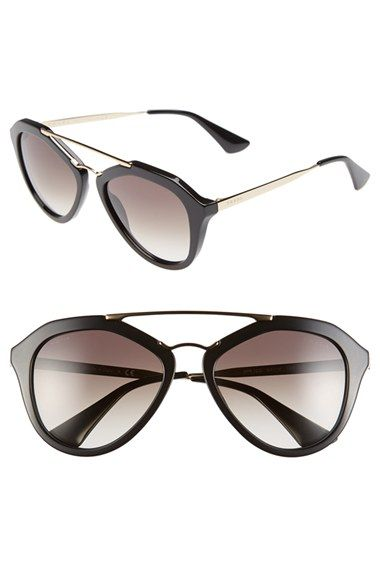 20e013e800 Prada 54mm Gradient Lens Sunglasses available at  Nordstrom ...