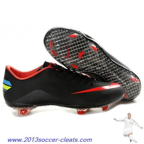 Cheap Nike Mercurial Vapor VIII FG - mercurial 8 firm ground - Black Red  For Sale b928db1c7d