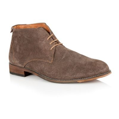 c14cd09d0ee Lotus Brown suede 'Wedbury' mens shoes- at Debenhams.com | Boots ...
