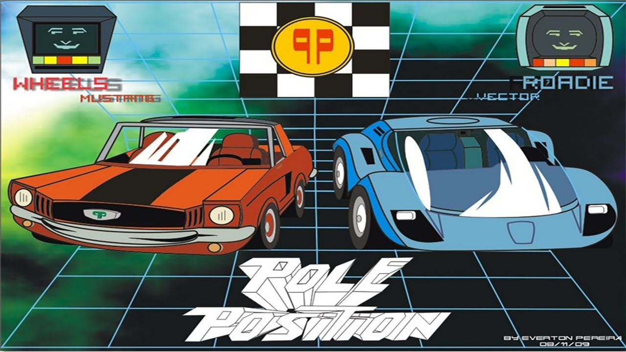 Image result for pole position cartoon 80 cartoons dic