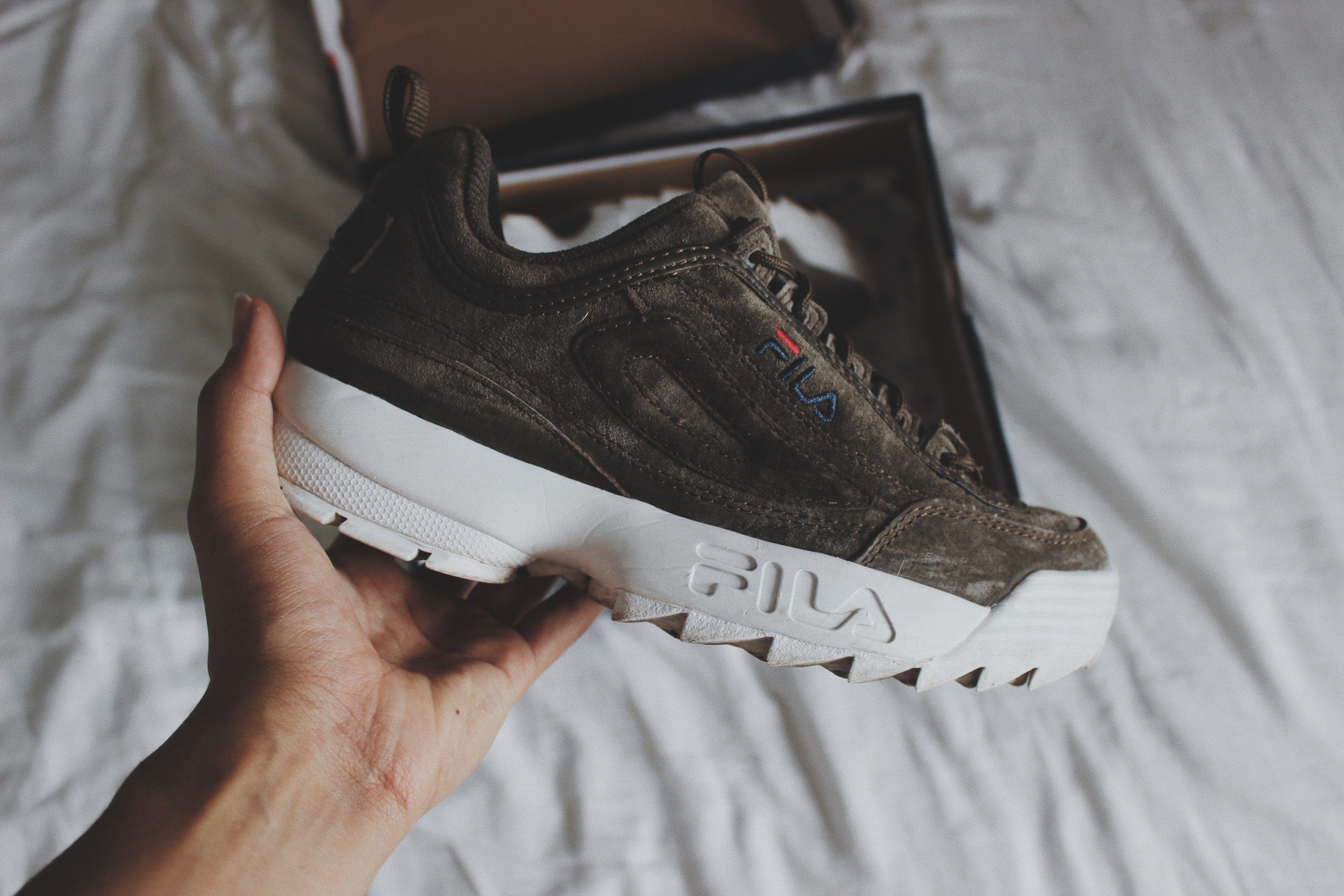 Sneakers Fila Night Ma Collection Olive De Disruptor c3LR5qj4A