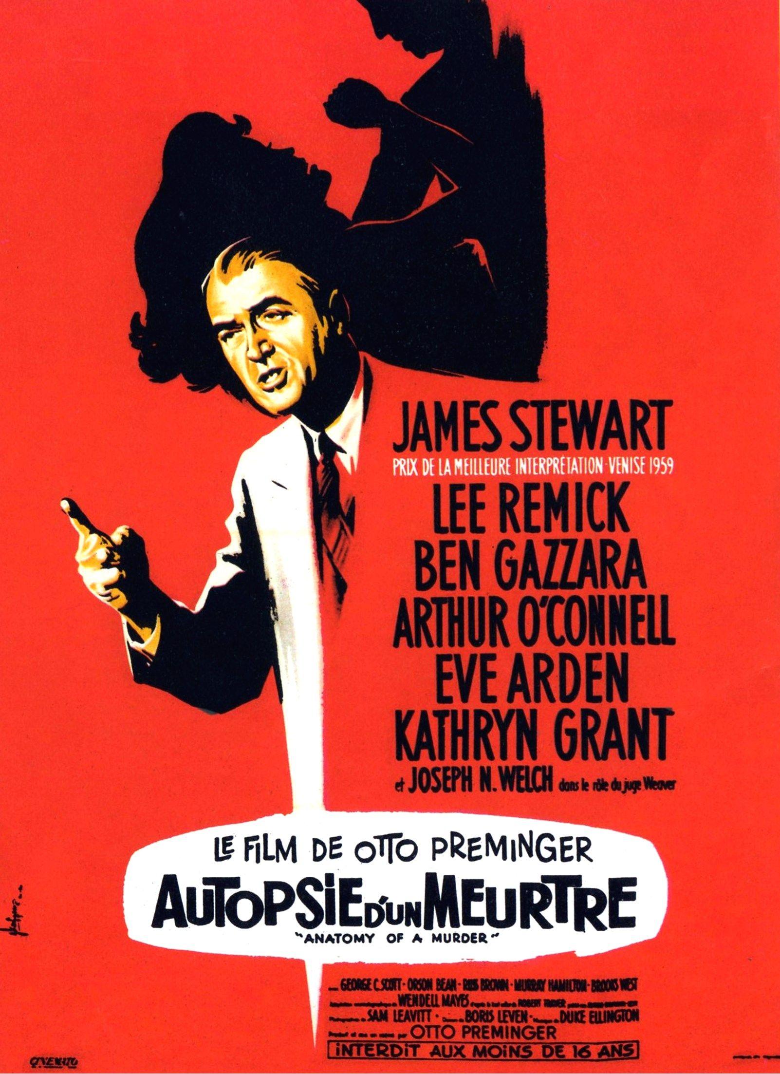 Autopsie d\'un meurtre [Anatomy of a Murder] - Otto Preminger | James ...