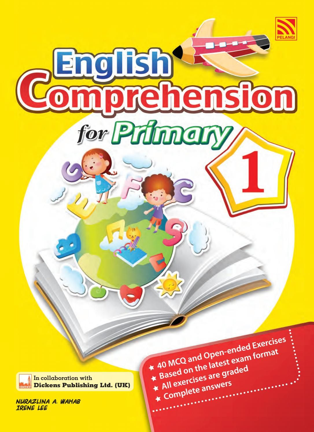 English Comprehension For Primary 3 Learning English For Kids English Books For Kids English Grammar Book