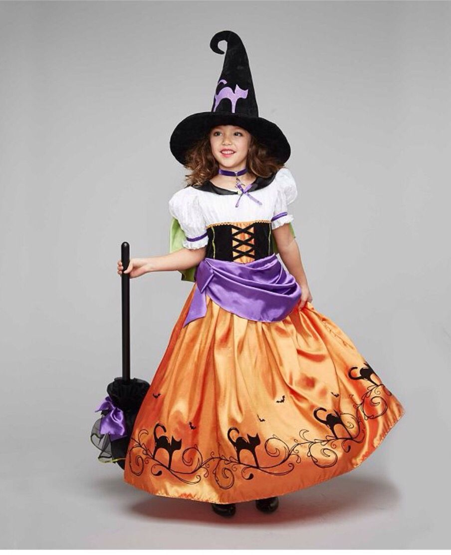 Witch girl costume | costumes | Pinterest | Girl costumes, Girls ...