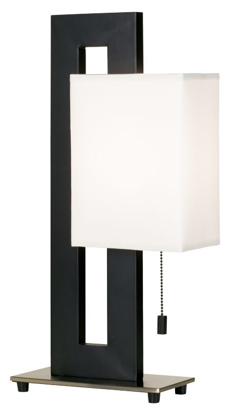 Brushed Nickel Floating Square Table Lamp Black Table Lamps Table Lamp Design Modern Table Lamp