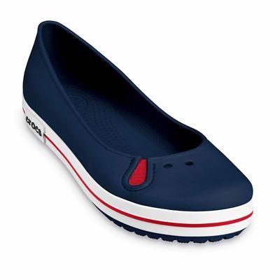 Zapatos azules formales Crocs para mujer gWf02