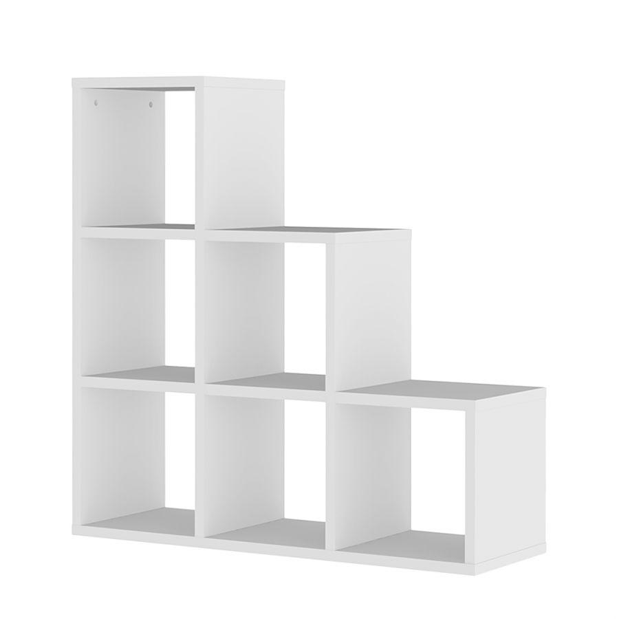 stufenregal tripptrapp box wei m bel. Black Bedroom Furniture Sets. Home Design Ideas