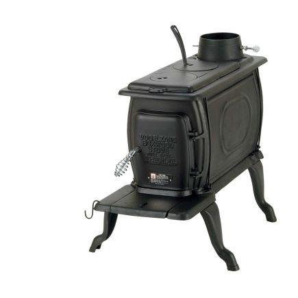 Vogelzang BTU Cast Iron Boxwood Stove, Model# Another adorable wood stove! - Cast Iron® 96,000 BTU Boxwood Stove (BX26E) - Wood, Coal & Pellet