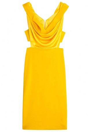 Cushnie Et Ochs - Draped dress. Available in-store and on Boutique1.com