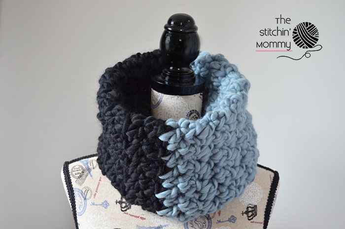 Color Block Cowl - Free Crochet Pattern | Color blocking, Free ...