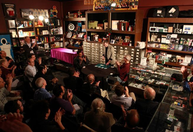 Darwin Ortiz lectured for a very enthusiastic sold-out house last night at Tannen's Magic.