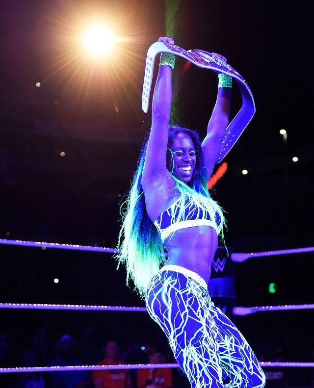 New Smackdown Woman U0026 39 S Champion Naomi