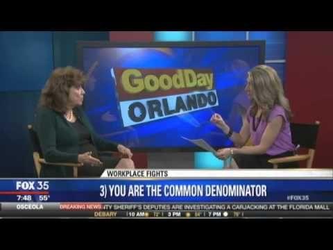 Dr. Mimi Speaks on Workplace Fights on Fox 35 News
