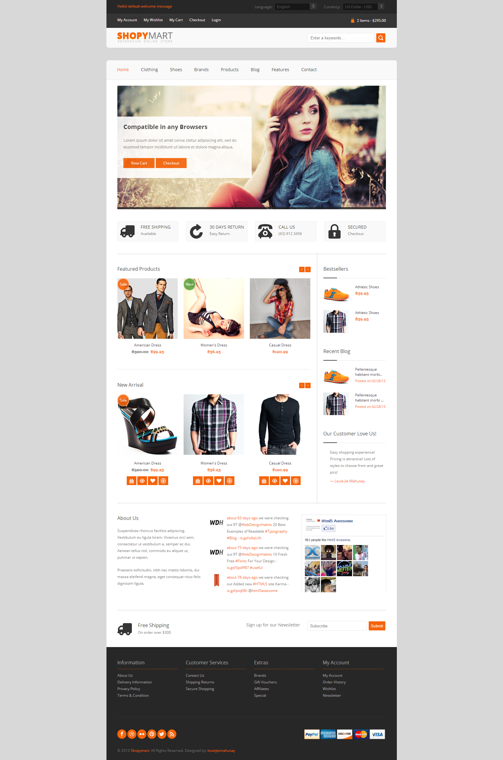 Website Templates - ShopyMart - Responsive html5 ecommerce template ...
