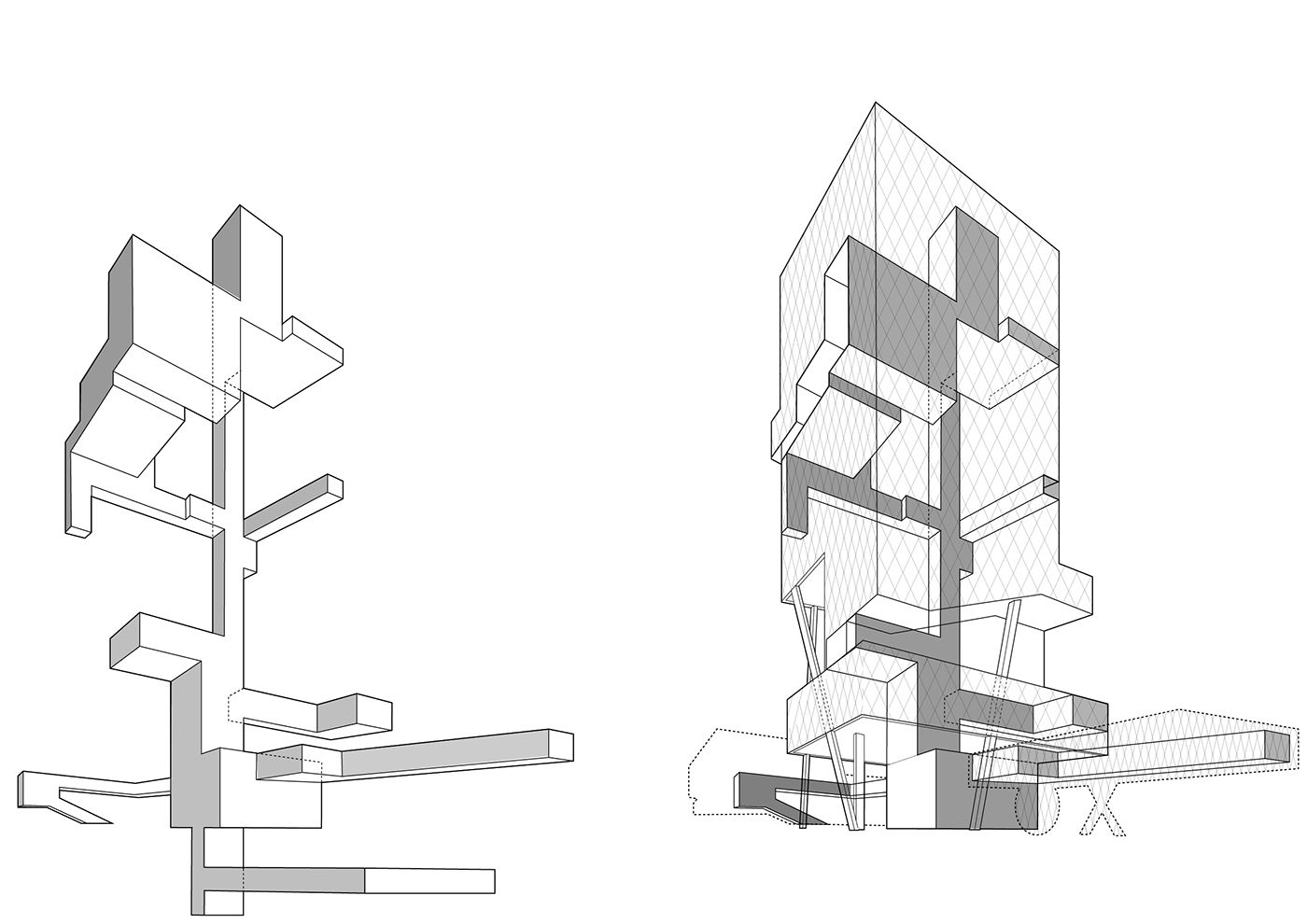 Highrise Proposal Tokyo On Behance With Images