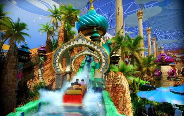 Fantasy Art Theme Park Amusement Park Rides Park Indoor