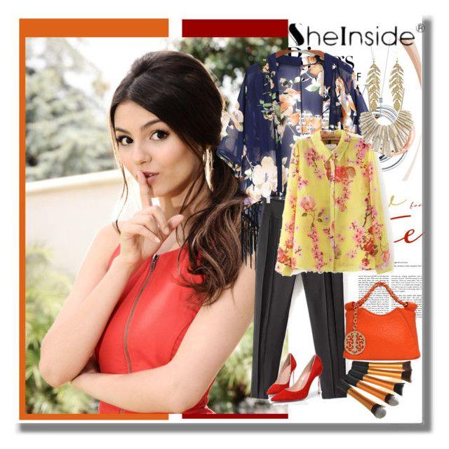 """Sheinside ® -7 웃웃웃웃웃웃웃"" by b-mila ❤ liked on Polyvore featuring Tiffany & Co."