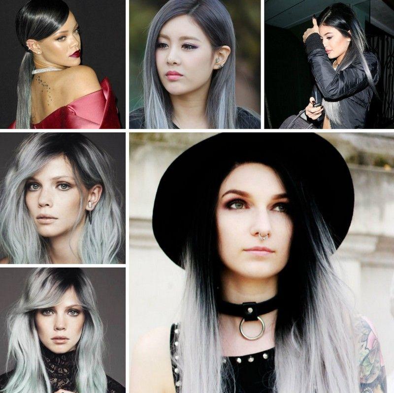 Frisuren Herbst 2015 Graue Haare Tragen Trendige Haarfarbe Hair