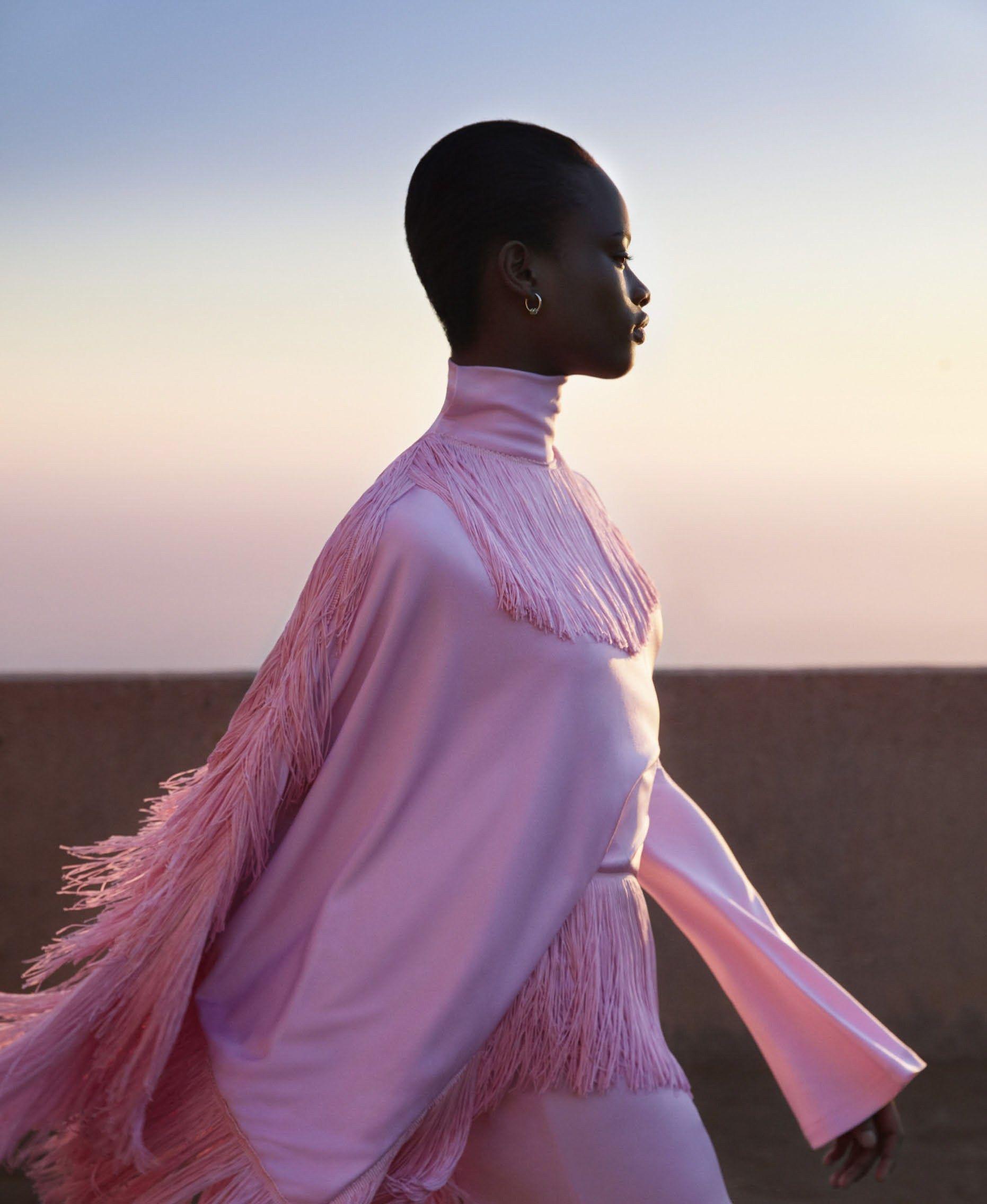 Mayowa Nicholas by Camilla Åkrans for Harper's Bazaar US February 2017